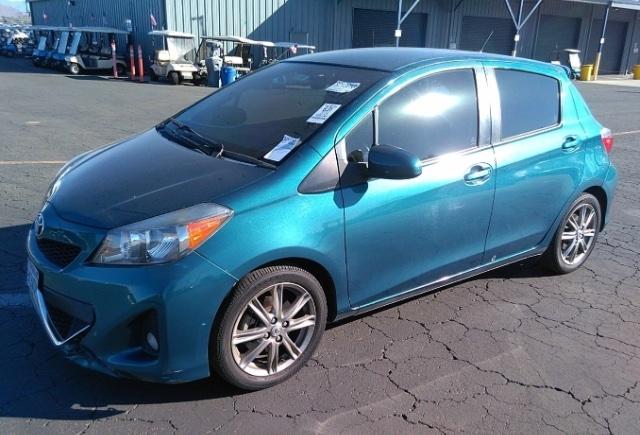 Toyota Yaris 2014 price $6,450