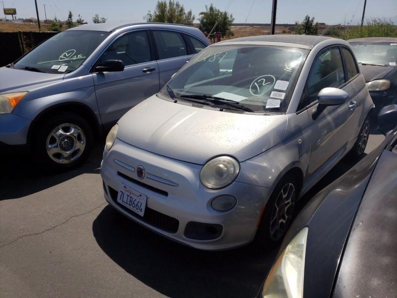 Fiat 500 2012 price $3,750