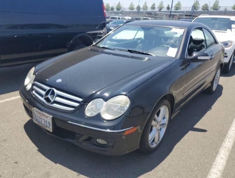 Mercedes-Benz CLK-Class 2009 price $5,450