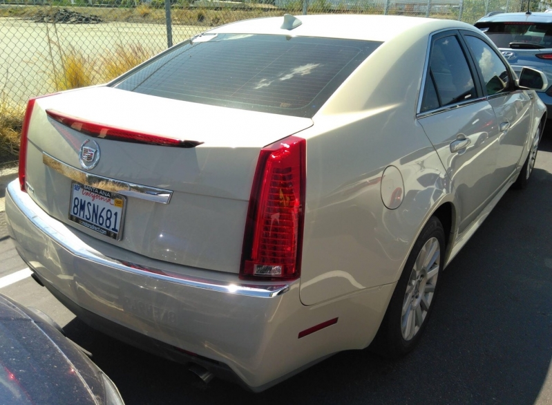 Cadillac CTS Sedan 2010 price $5,750