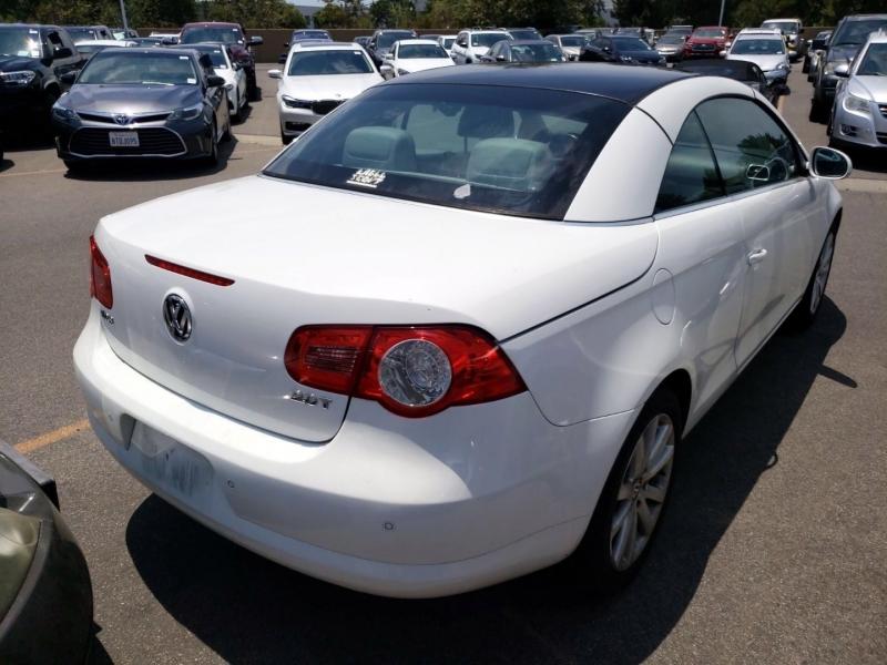 Volkswagen Eos 2007 price $4,450