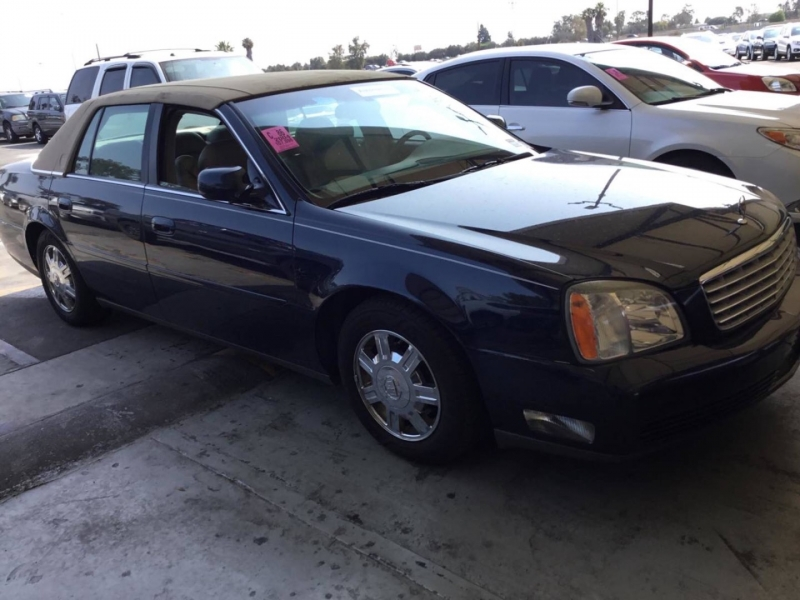 Cadillac DeVille 2004 price $3,050