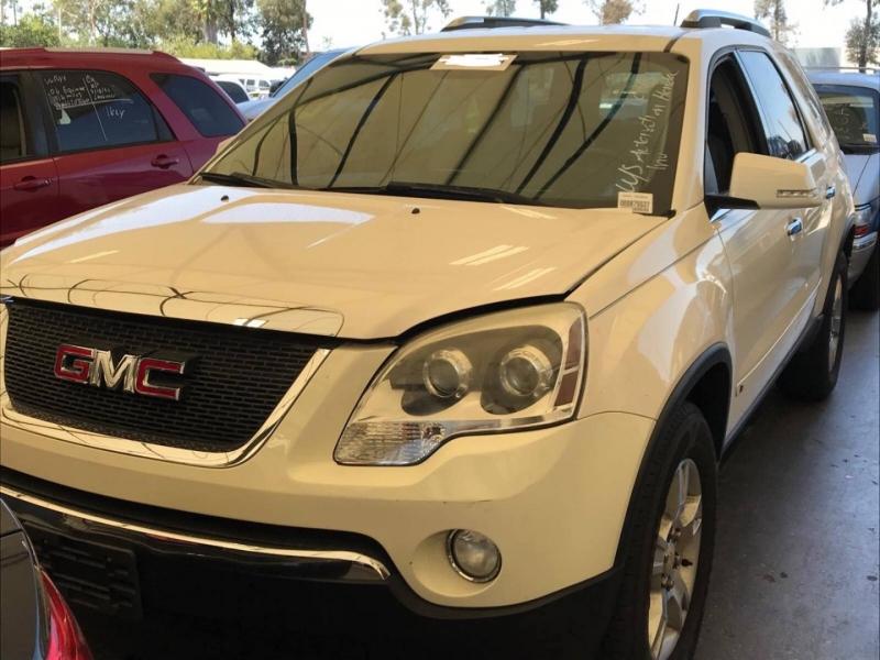 GMC Acadia 2009 price $7,350
