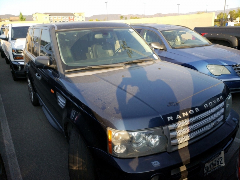 Land Rover Range Rover Sport 2006 price $7,250