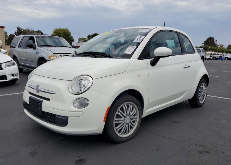 Fiat 500 2012 price $6,450
