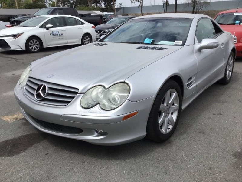Mercedes-Benz SL-Class 2003 price $7,850