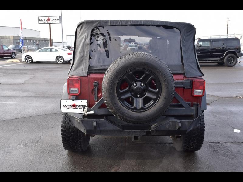 Jeep Wrangler 2008 price $14,999