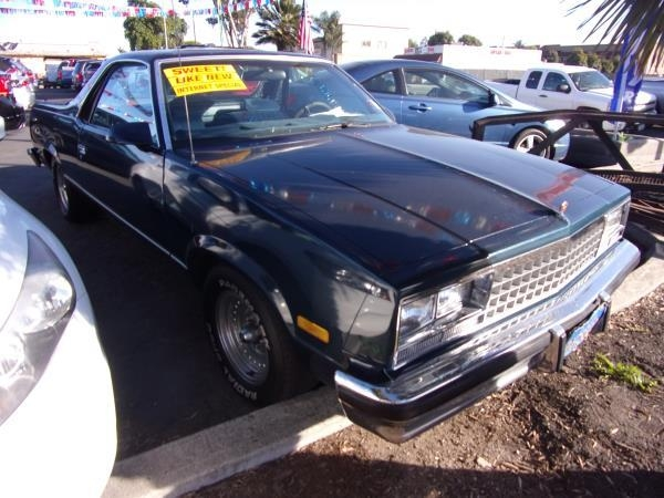 CHEVROLET EL CAMINO 1987 price Call for Pricing.