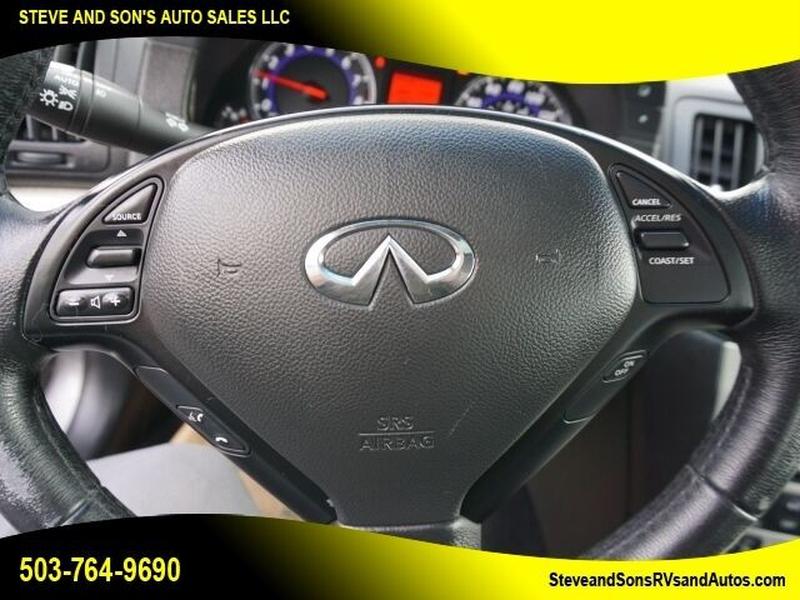 Infiniti G35 2008 price $8,995