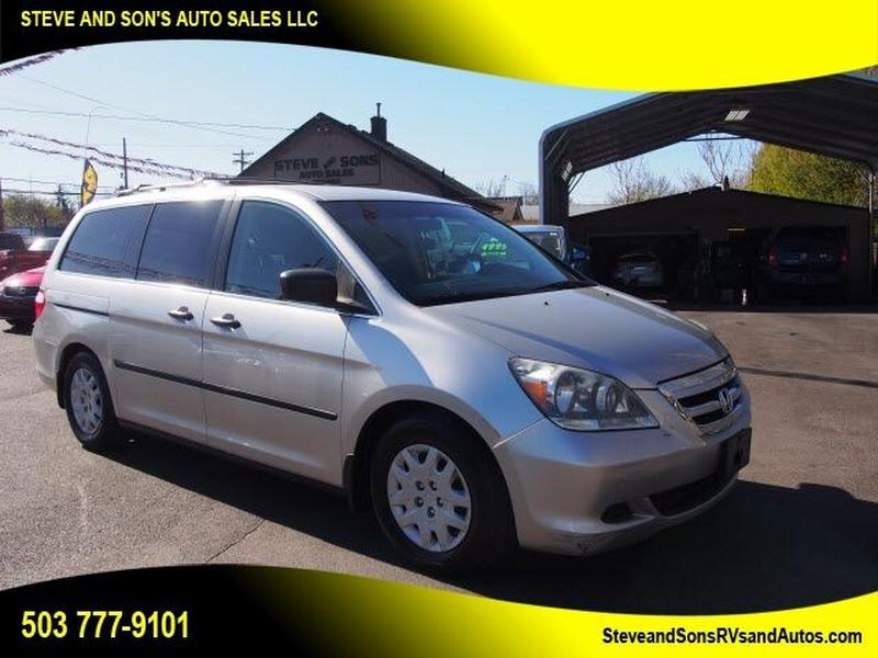 Honda Odyssey 2007 price $4,650
