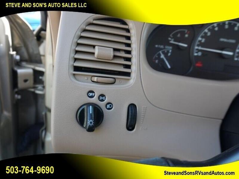 Ford Ranger 2002 price $11,995