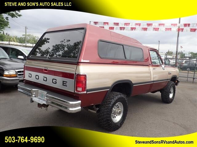 Dodge RAM 250 1992 price $27,995