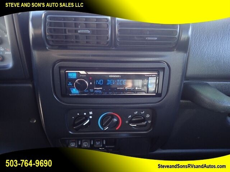 Jeep Wrangler 2003 price $15,995