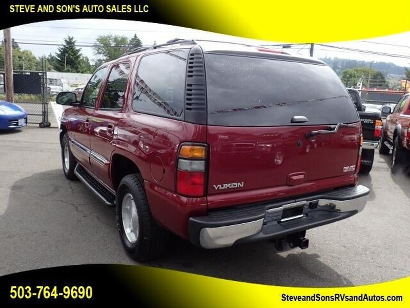 GMC Yukon 2006 price $10,995