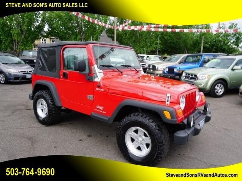 Jeep Wrangler 2006 price $18,950