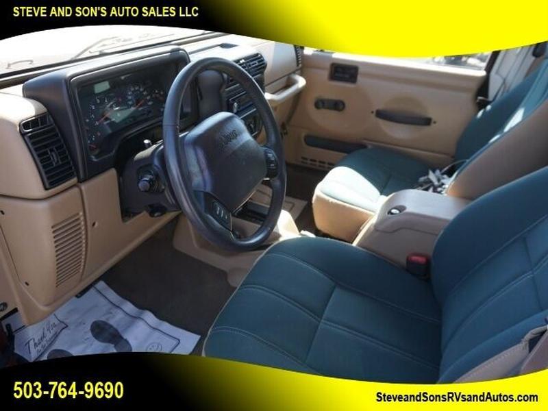 Jeep Wrangler 2001 price