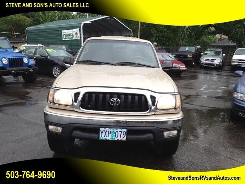 Toyota Tacoma 2002 price $21,995
