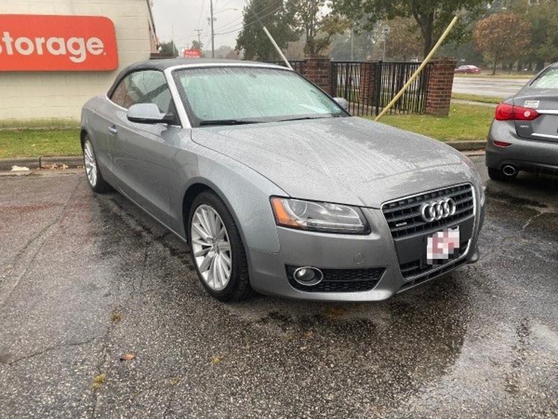 Audi A5 2011 price $12,499