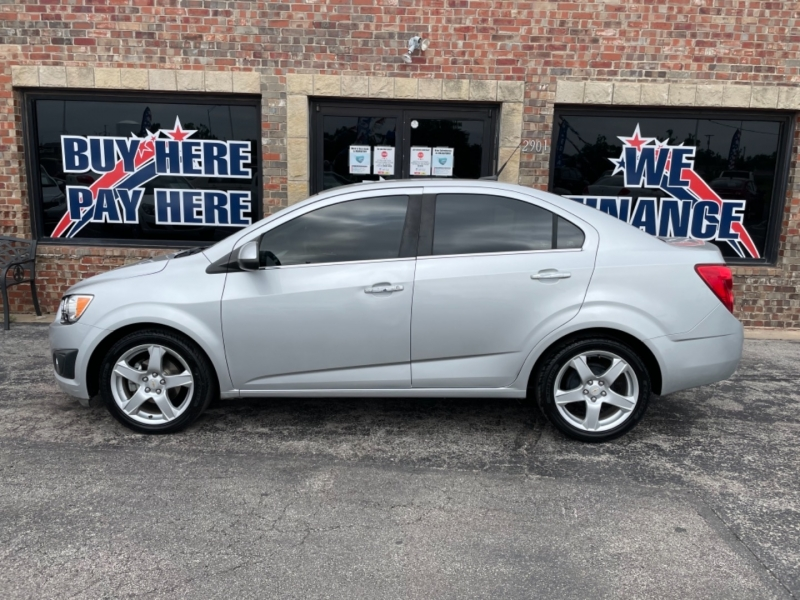Chevrolet Sonic 2012 price LOW DOWN PAYMENT