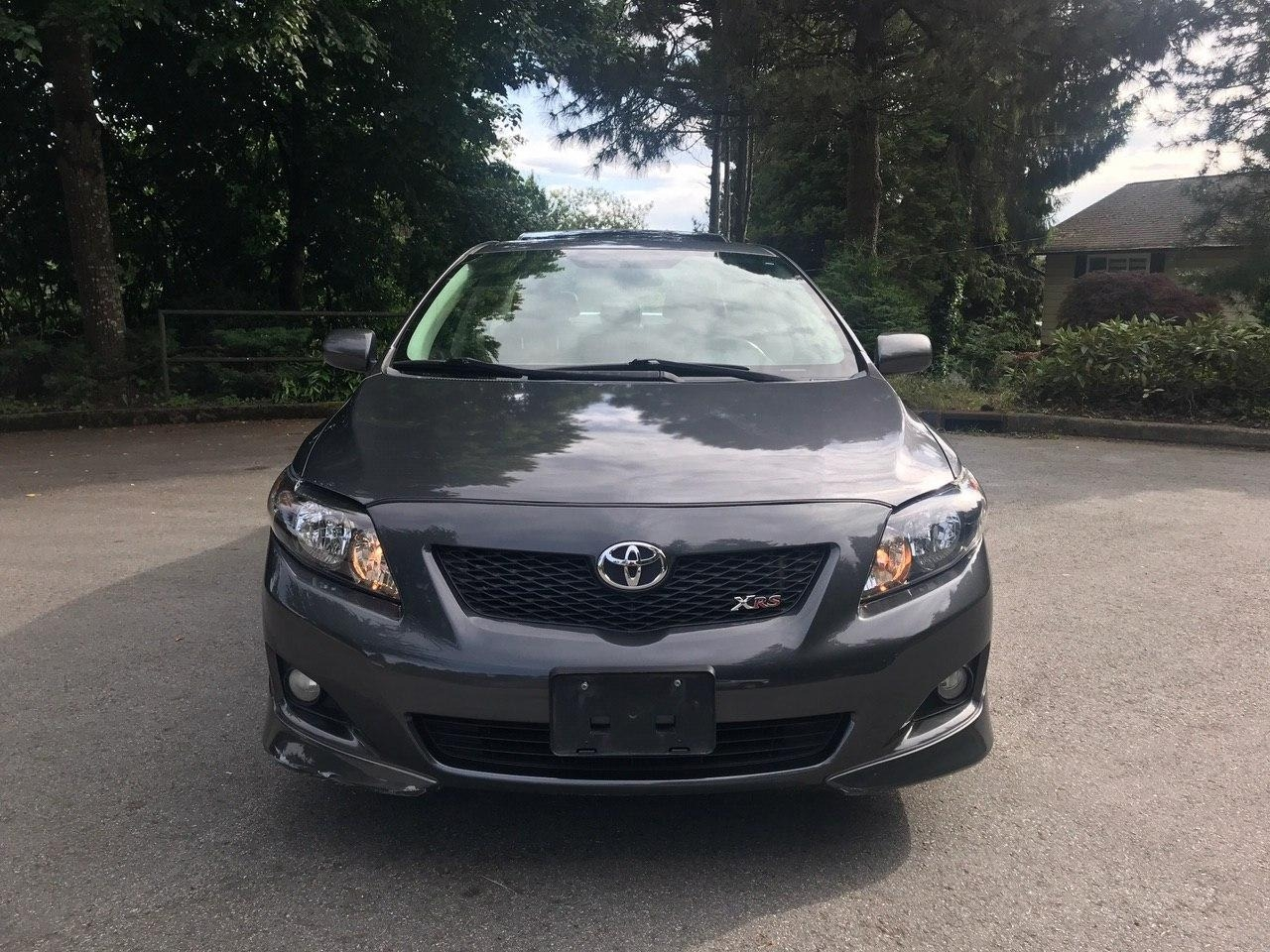 2010 Toyota Corolla Xrs 4dr Auto Local Leather Sunroof Alpha Auto Access Ltd Dealership In Burnaby