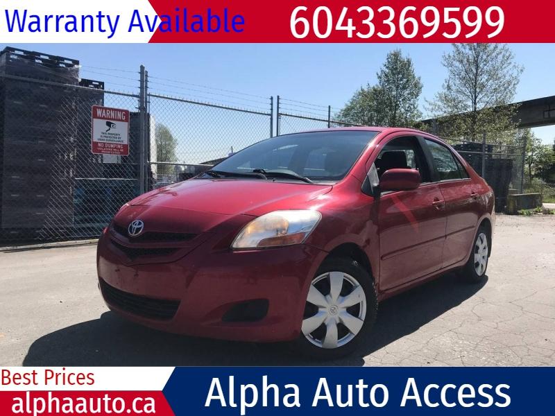Toyota Yaris 2008 price $2,900