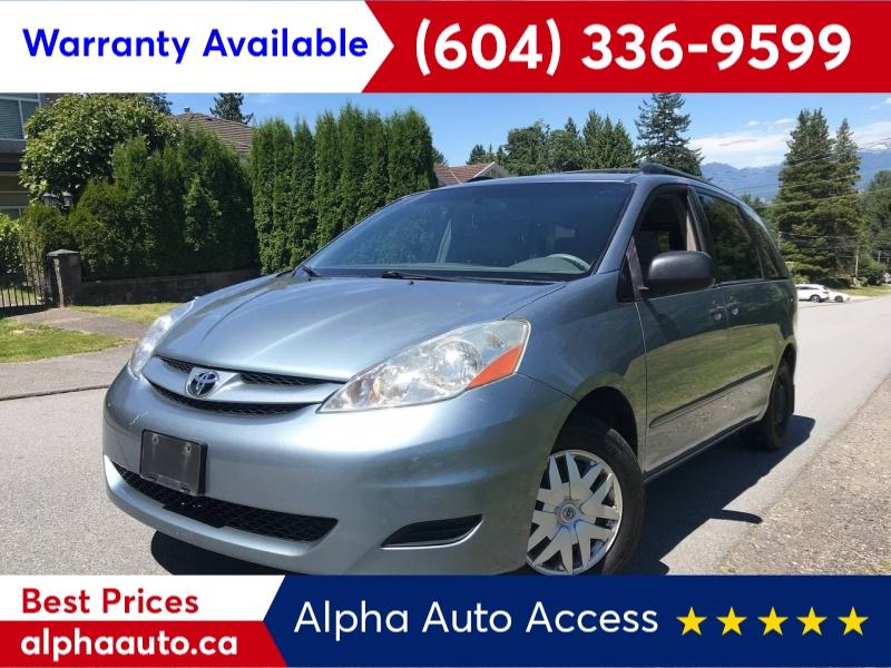 Toyota Sienna 2006 price $5,800