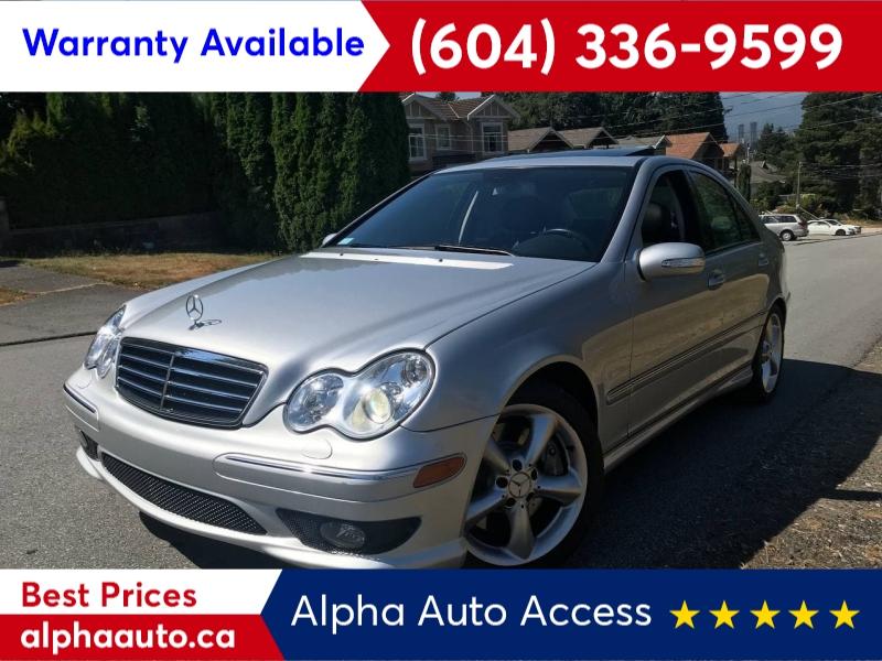 Mercedes-Benz C-Class 2006 price $5,800