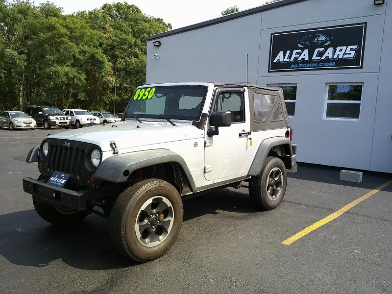 Jeep Wrangler 2009 price $8,250