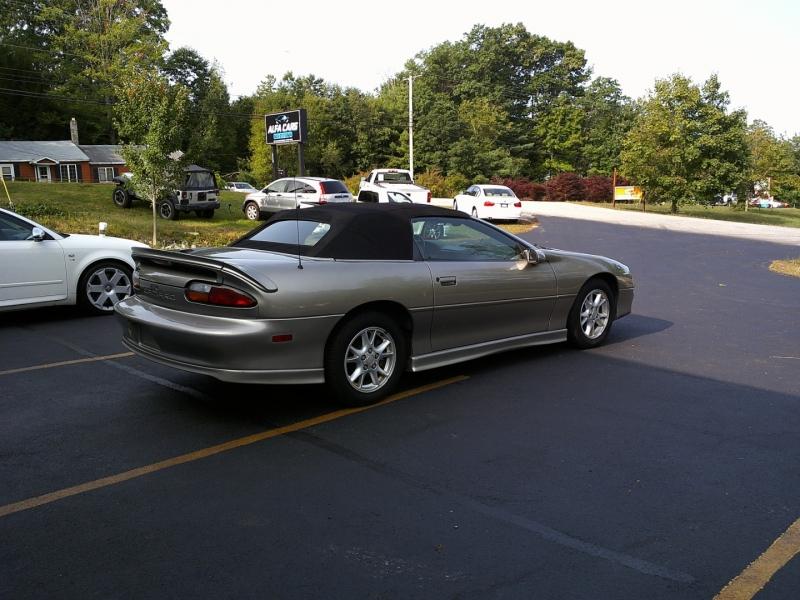 Chevrolet Camaro 2002 price $3,750