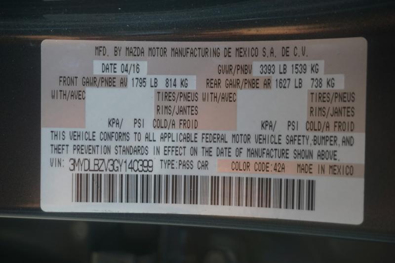 Scion iA 2016 price $10,499