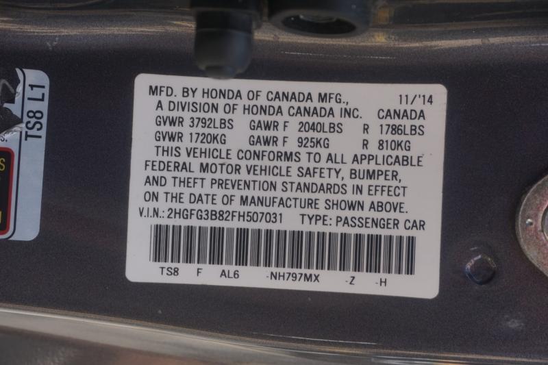 Honda Civic Coupe 2015 price $10,999