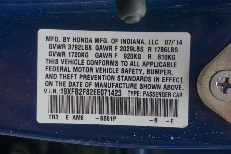 Honda Civic Sedan 2014 price $11,999