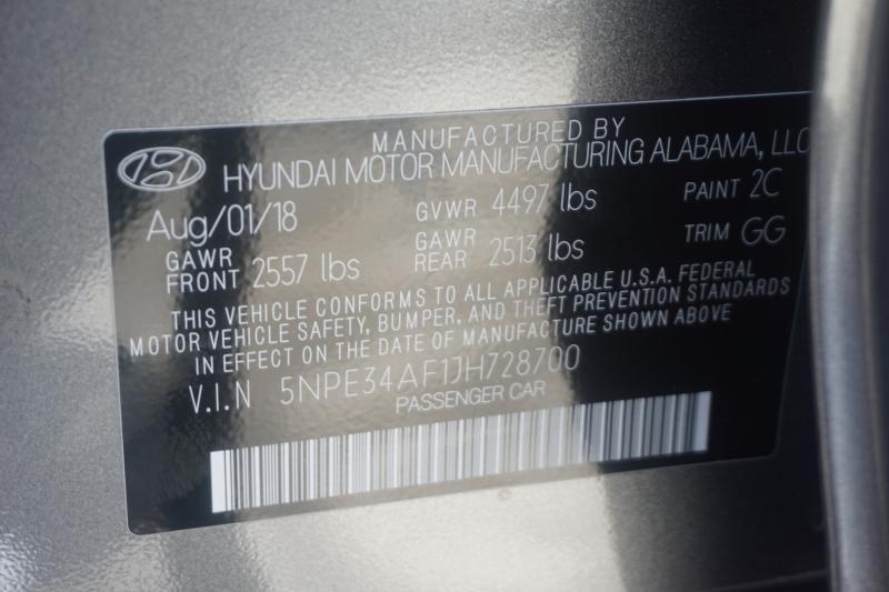Hyundai Sonata 2018 price $17,599