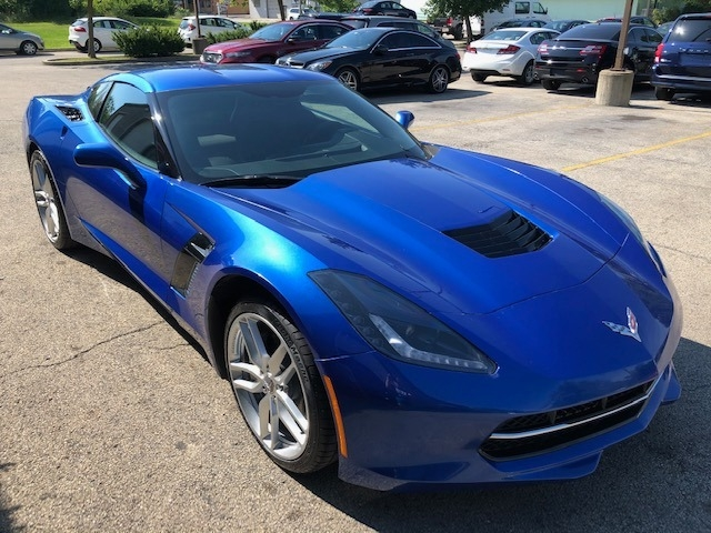 Chevrolet Corvette 2019 price $42,500