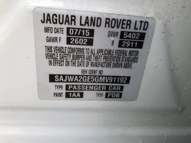Jaguar XJ 2016 price $29,995
