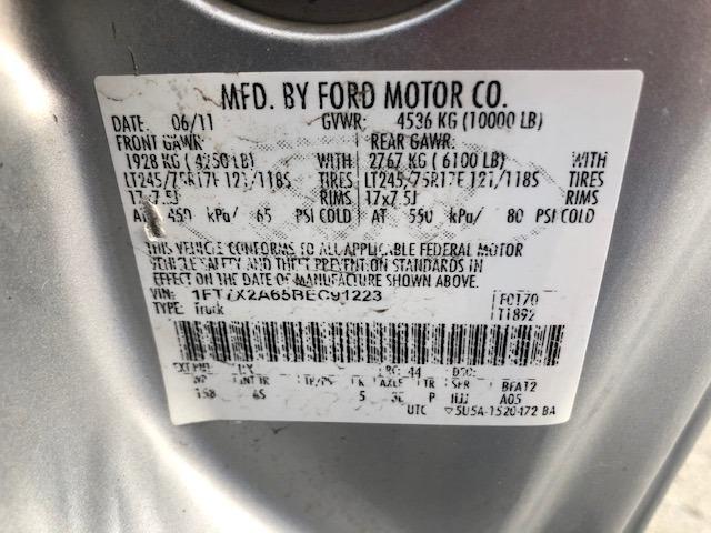 Ford Super Duty F-250 SRW 2011 price $13,500