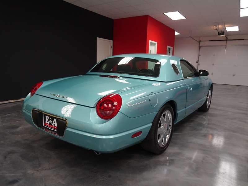 Ford Thunderbird 2002 price