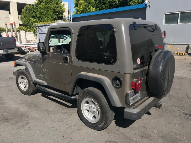 Jeep Wrangler 2004 price $14,450