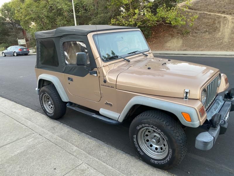 Jeep Wrangler 2000 price $8,450