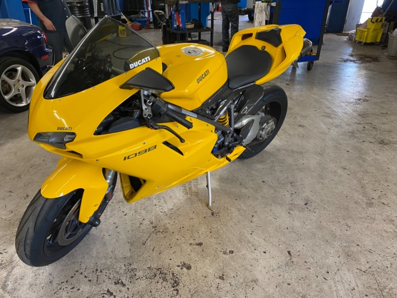 Ducati 1098 Superbike 2008 price $8,950