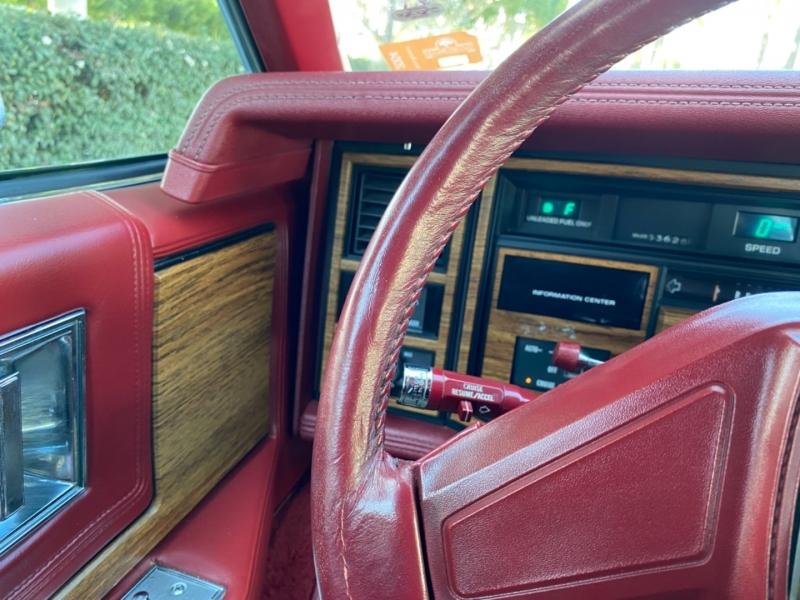 Cadillac Eldorado 1985 price $11,950