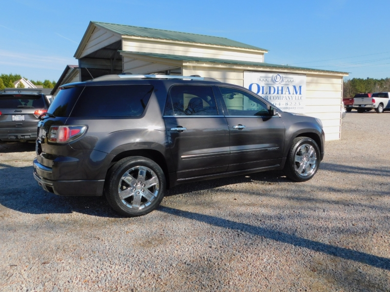 GMC Acadia Denali 2013 price $8,900