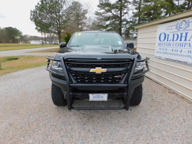 Chevrolet Colorado Crew Cab 4X4 ZR2 2018 price $28,900