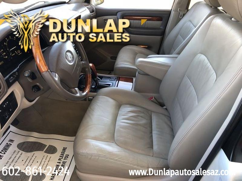 Lexus LX 470 2001 price $14,900