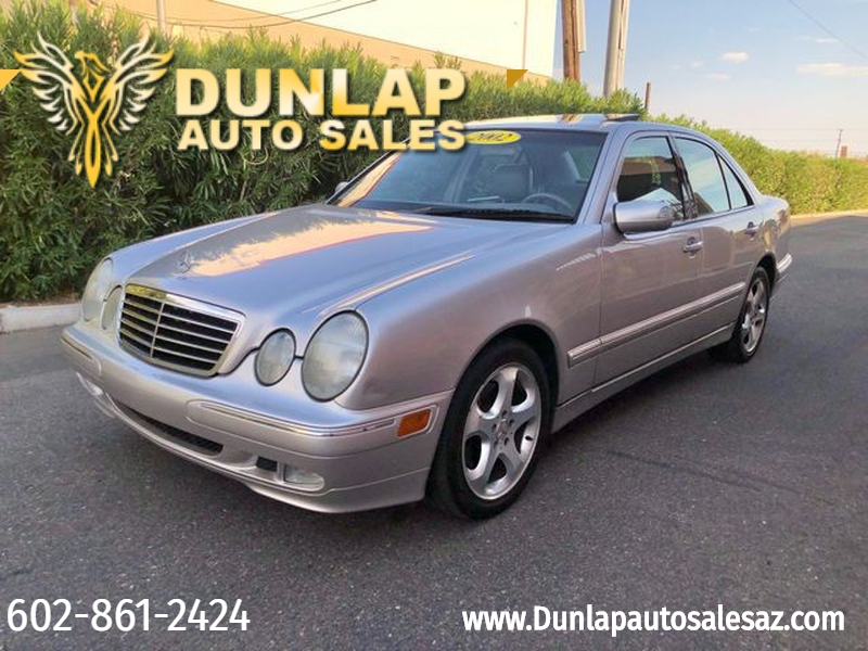 Mercedes-Benz E320 2002 price $4,700