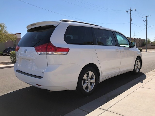 Toyota Sienna 2012 price $12,950