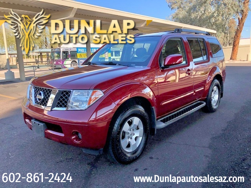 Nissan Pathfinder 2007 price $7,995