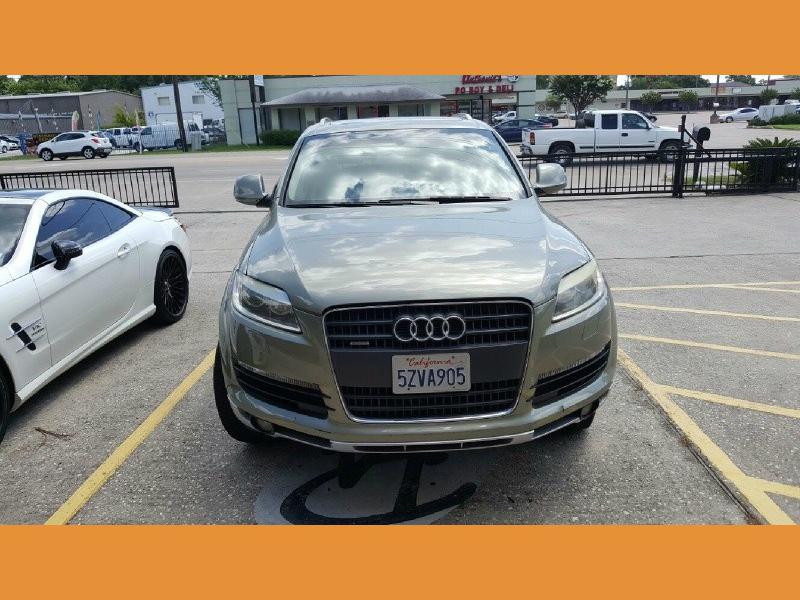 Audi Q7 2007 price $0