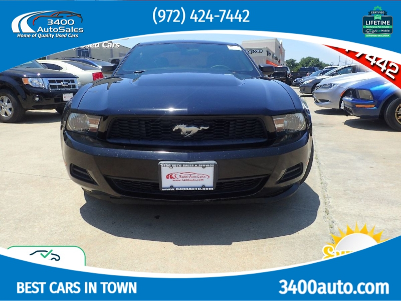 Ford Mustang 2011 price $10,285