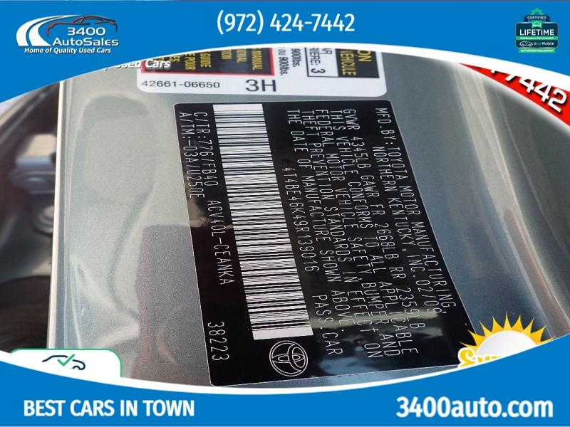 Toyota Camry 2009 price $9,199